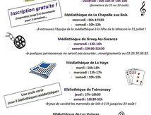 Permanence des Bibliothèques du Val de Vôge
