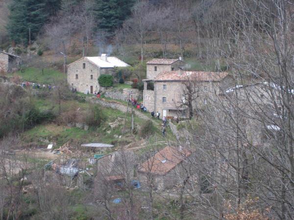 Les hameaux autour de Gluiras et soirée inaugurale