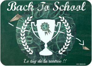 Taguée !! Come back to School !!