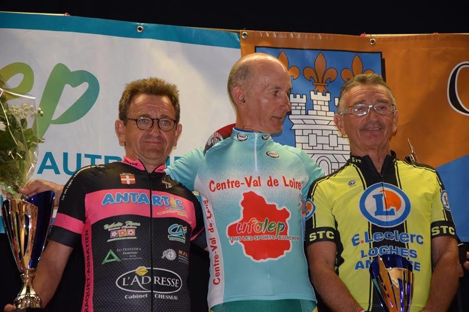 Les podiums des championnats régionaux UFOLEP