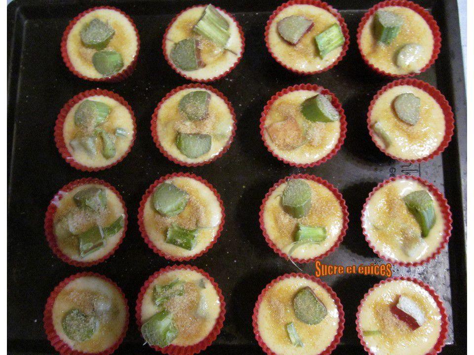 Muffins à la rhubarbe - Recette en vidéo