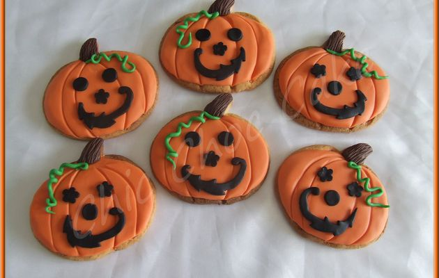 """Biscuits """"Si Trouille"""" pour Halloween..."""