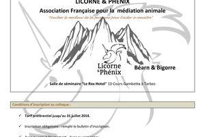 La communication dans la pratique de la médiation animale - 18-19 octobre 2014