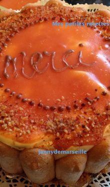bavarois caramel-mangue passions