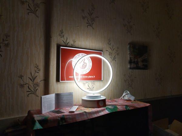 test de la lampe anneau à éclairage led multicolore Aukey LT-ST37 @ Tests et Bons Plans