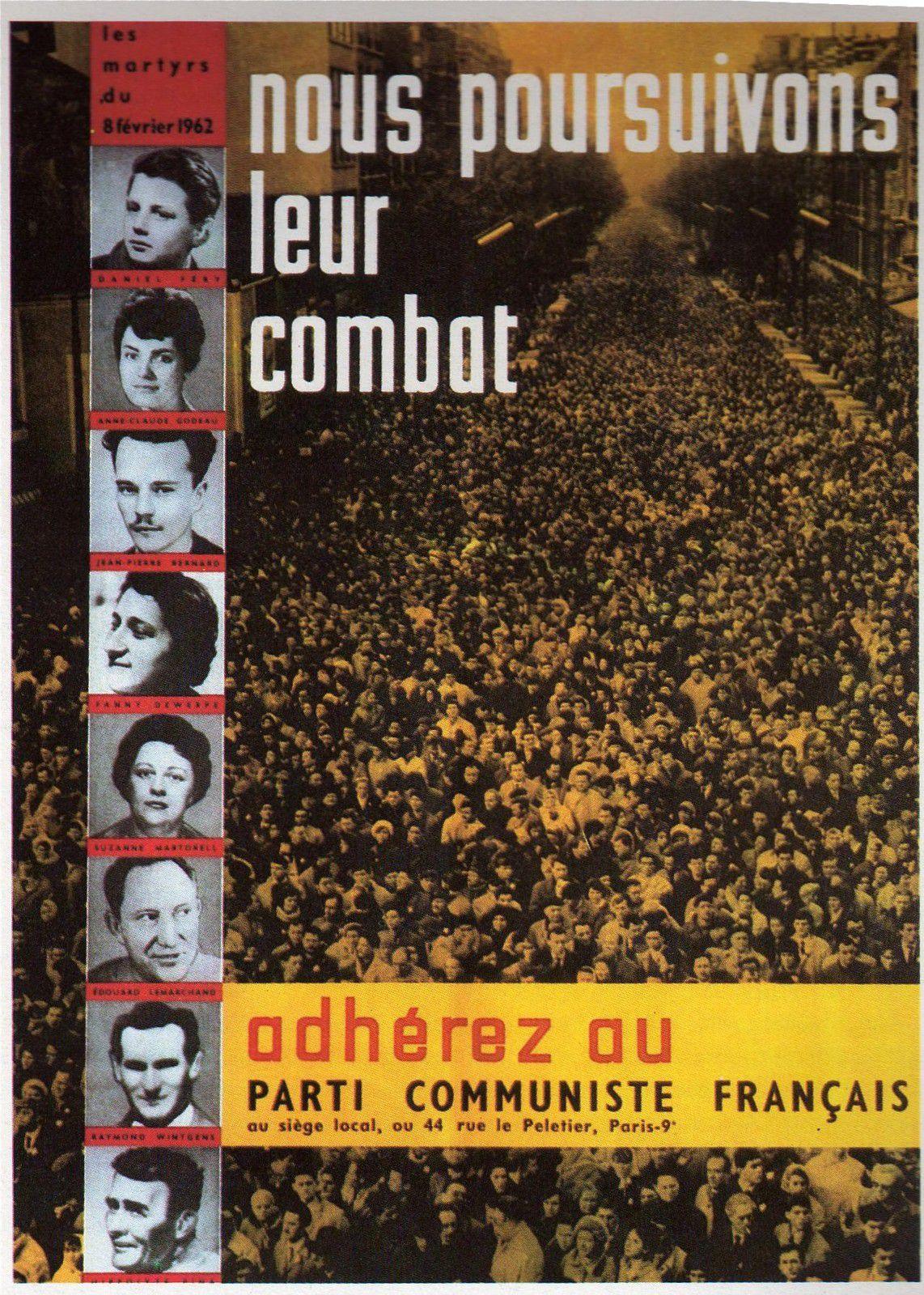 [Le PCF à 100 ans] Parti Communiste Français : fragments d'histoire en images (photos et affiches)