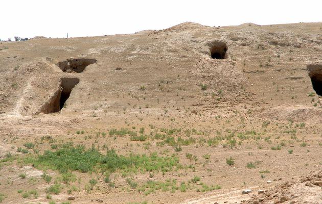 En Syrie, le site archéologique assyrien de Tell...
