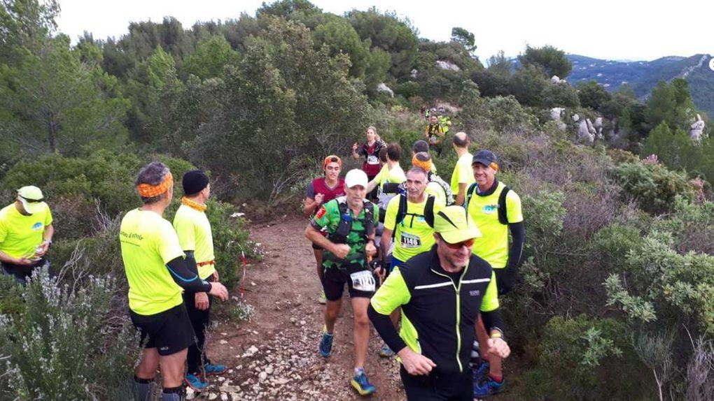 Trail de St Cyr avec Laure