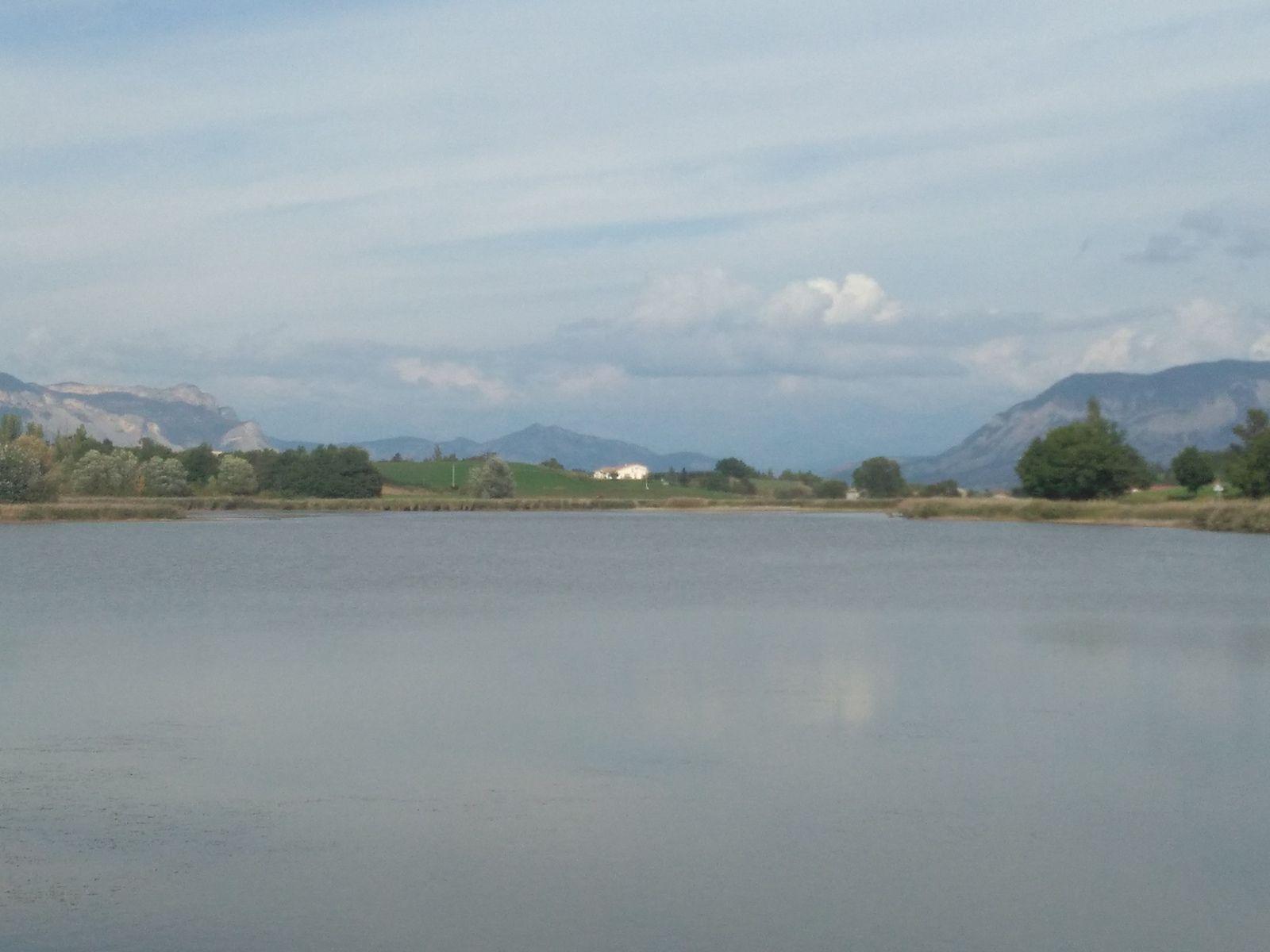 Samedi  = le lac de Mison