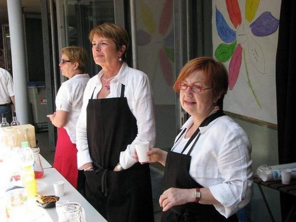 Dans la cour du Dix, Butte Ste Anne, les rencontres chorales 2008.