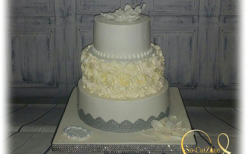 Wedding-Cake - D'argent et de blanc vêtu