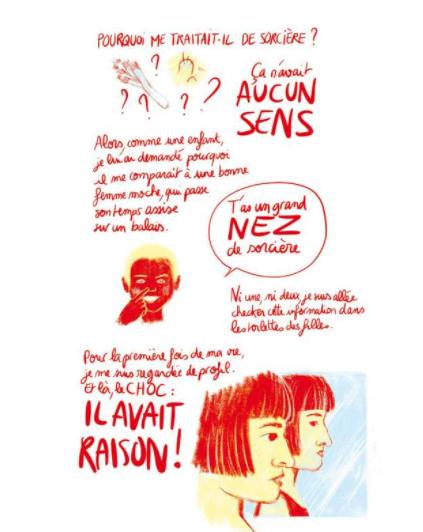Corps à coeur, coeur à corps, Léa Castor, éditions lapin, 2020
