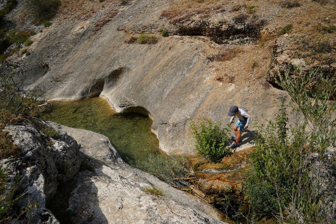 le ruisseau sous le Pas de Jubéo