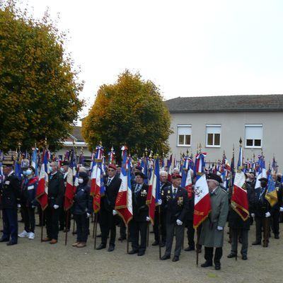 Journée d'hommage aux Portes-drapeau de l'Ain
