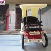 DAIS PEUGEOT VIS-A-VIS 1895 SAFIR 1/43 - car-collector.net