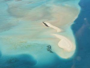 Vol au dessus de l'île des Pins
