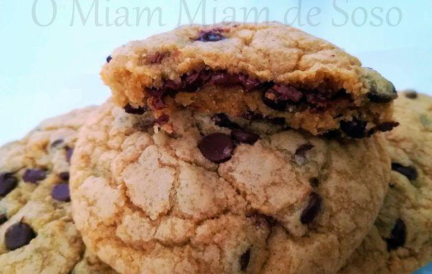 COOKIES FOURRES NUTELLA & PÉPITES DE CHOCOLAT