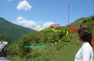 Ariège Pyrénées_Vèbre chemins faisant_ Entretien du chemin de caychax