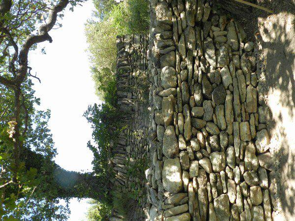 Quelques murs de soutènement