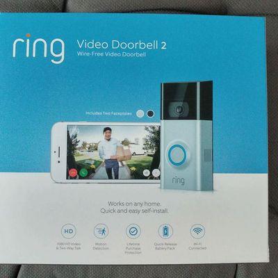 Ring Doorbell2, la sonnette wifi.