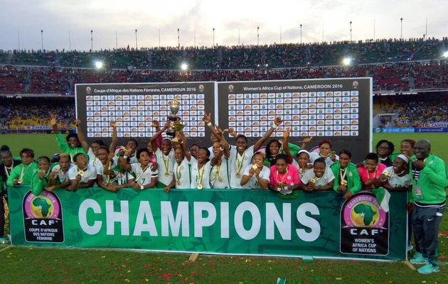 FANS REACT || As Super Falcons beat Cameroon to win 8th African title.