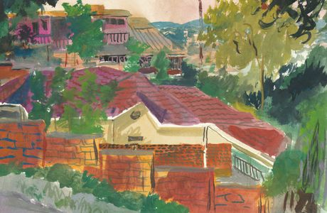 Maison du quartier riche de Kiyovu