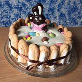 Charlotte de Pâques aux trois chocolats - La cuisine de Rolly