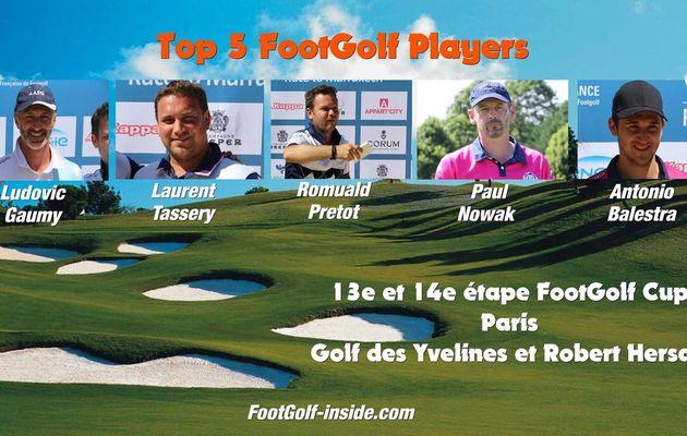 Top 5 FootGolf Players - Paris 2016 - 13e et 14e étape