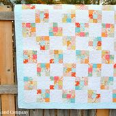 Nine Patch Quilt Block Tutorial - Simple Simon and Company