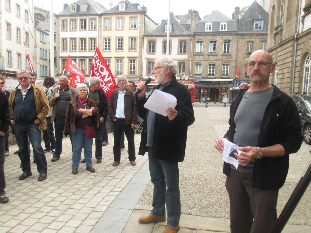Hommage à Clément Méric. Manifestation de colère contre l'extrême-droite.