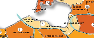 Le canton de Charenton