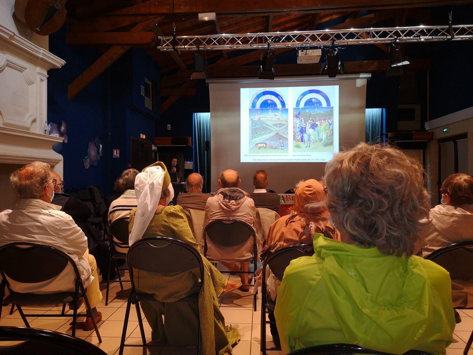 Septembre 2020 : conférence ET exposition