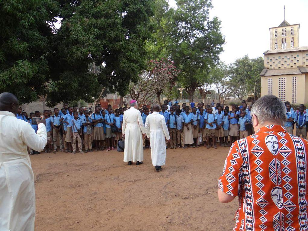 Visite de Mgr Aillet en février 2019