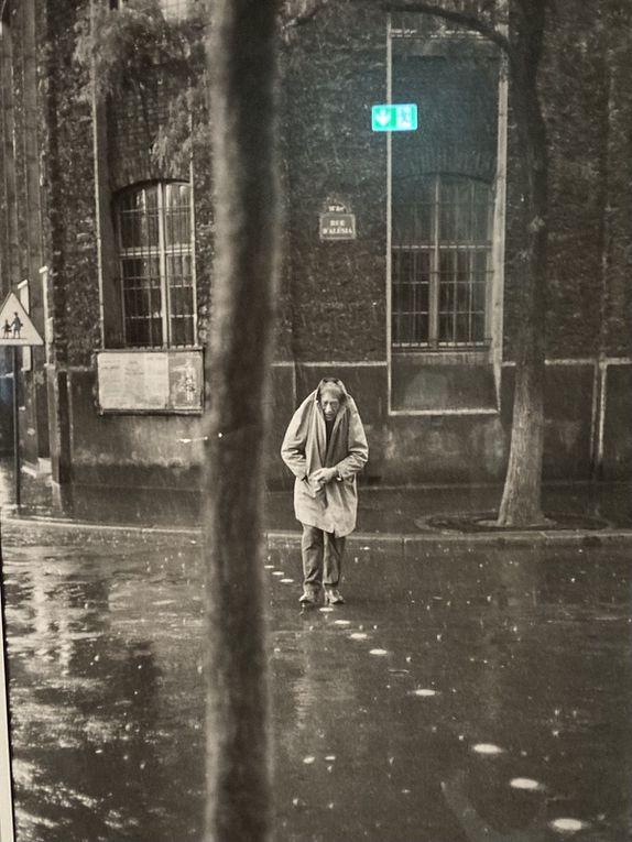 Cartier Bresson portraits : Camus, Mauriac, Giacometti (2), Huppert, Sartre, Le Clézio et son épouse, Beckett