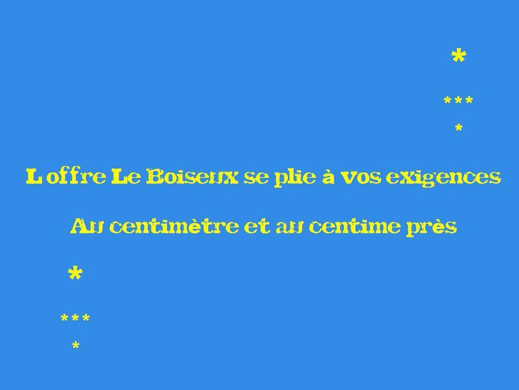 L'offre Le Boiseux c'est des plateaux de tables sur mesure et des formats standards, une proximité et des services