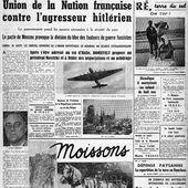 Le 26 août 1939, le journal l'Humanité est saisi, puis interdit - Le blog de Roger Colombier