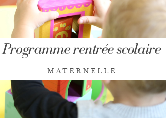 Programme maternelle