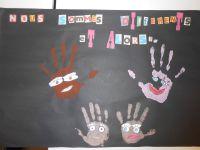 Le résultat des affiches des droits de l'enfant