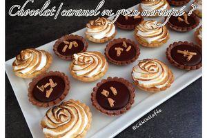 Chocolat/caramel ou yuzu meringué ?