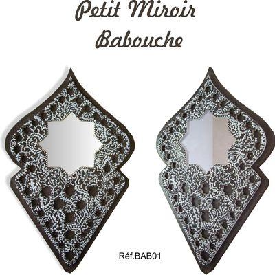 Petit Miroir Babouche/ Oriental mirror