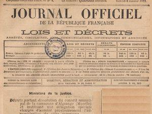 La crise municipale dans les journaux en 1922-1923 et nouvelles élections