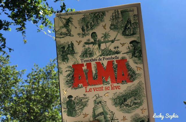 Alma, roman jeunesse d'aventures dénonçant l'esclavage