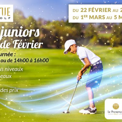 STAGES JUNIORS VACANCES DE FEVRIER !