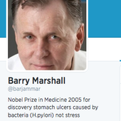 This could raise your citation level - Barry Marshall