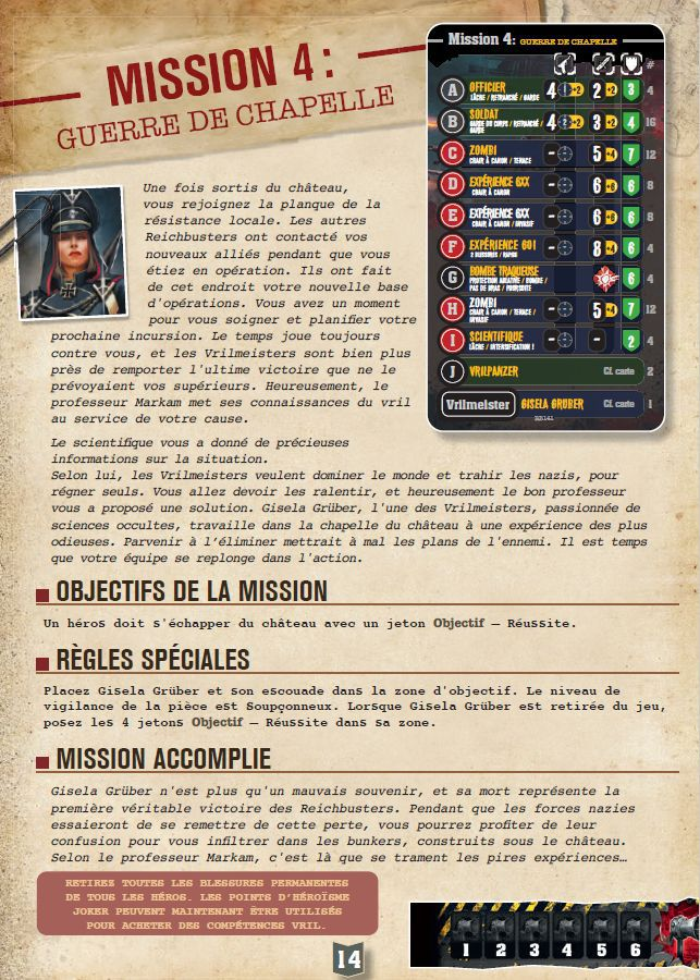 Reichbusters to be continued - Mission 3 &4  ! Mythic Games