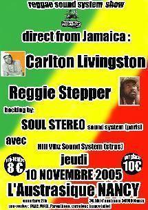 """Tous les flyers du mois de novembre 2005<br/> <a href=""""http://www.reggae-blog.com/article-663160.html"""">Acc&eacute;der &agrave; l'agenda complet de novembre 2005</a><br/>"""