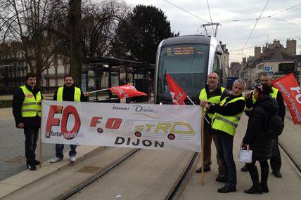 Manifestation FO Dijon 5 Mars 2013