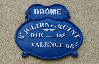 Balade à Saint-Julien en Quint (Drôme)