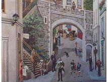 Fresque géante à Quebec