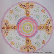 Mandala de la guérison (pour méditation)